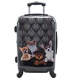 Chariot® 3-pc. Doggies ABS Luggage Set