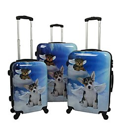 Chariot® 3-pc. Dream ABS Luggage Set