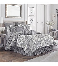 Croscill® Everly Silver Bedding Collection