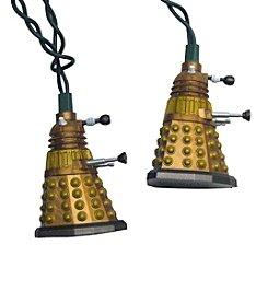 Kurt S. Adler Doctor Who™ Bronze Dalek Light Set