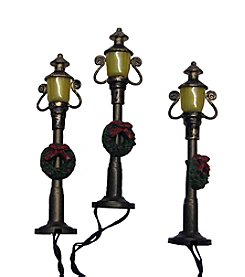 Kurt S. Adler Battery-Operated Antique Colonial Street Lamp