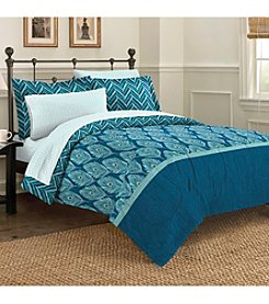 Discoveries Elegant Peacock Mini Bed-in-a-Bag Comforter Set