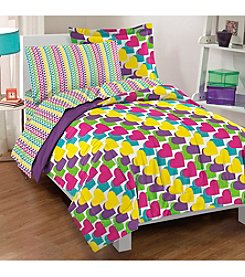 Dream Factory® Rainbow Comforter Set