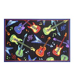 Fun Rugs® Guitars Rug