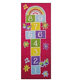 Fun Rugs® Garden Hopscotch Rug