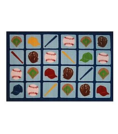 Fun Rugs® Up to Bat Rug