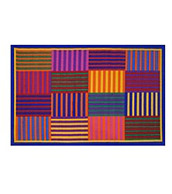 Fun Rugs® Rainbow Stripes Rug