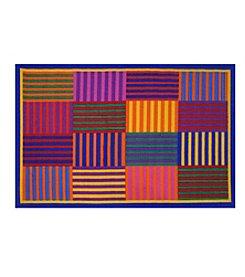 Fun Rugs® Rainbow Stripes Rug