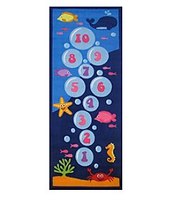 Fun Rugs® Underwater Hopscotch Rug