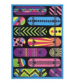 Fun Rugs® Gnarly Boards Rug