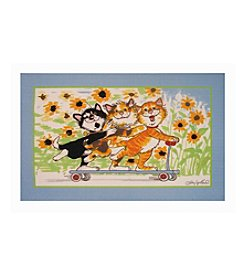 Fun Rugs® Duckport Kitties Take a Ride Rug