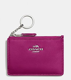 COACH MINI ID SKINNY IN SMOOTH LEATHER