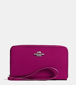 COACH UNIVERSAL ZIP CASE IN SMOOTH LEATHER