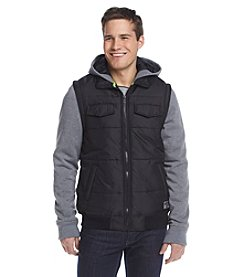 Distortion® Men's Puffer Vest With Fleece