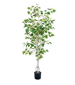 Pure Garden Artificial Birch Tree
