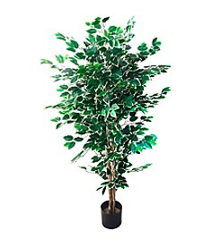 Pure Garden Artificial Ficus Tree