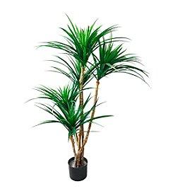 Pure Garden Artificial Tropical Yucana Tree