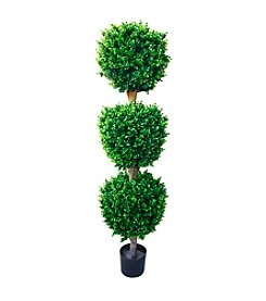 Pure Garden Artificial Triple Ball Hedyotis Tree