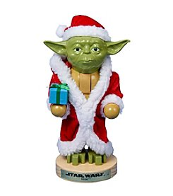 Kurt Adler Star Wars® Yoda in Santa Robe Nutcracker