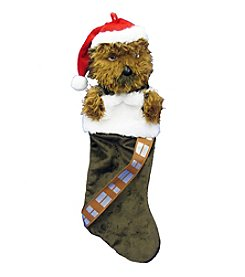 Kurt Adler Star Wars® Chewbacca Plush Head Stocking