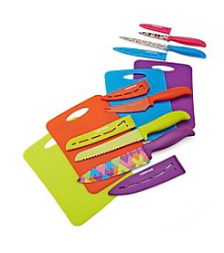 Farberware® 14-Pc. Resin Cutlery Set With Cutting Mats