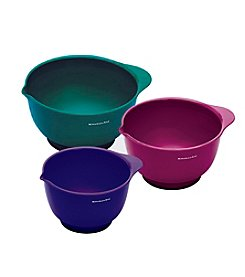 KitchenAid&Reg; 3-Pc. Mixing Bowls