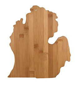 Totally Bamboo® Michigan State Shaped Cutting/serving Board