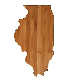 Totally Bamboo® Illinois State Shaped Cutting/Serving Board