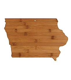 Totally Bamboo® Iowa State Shaped Cutting/serving Board