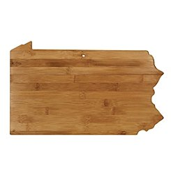 Totally Bamboo® Pennsylvania State Shaped Cutting/serving Board