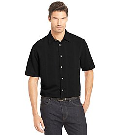 Van Heusen® Men's Short Sleeve Button Down Shirt