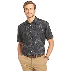 Van Heusen® Men's Short Sleeve Polynesian Print Button Down Shirt