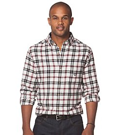 Chaps® Men's Long Sleeve Plaid Flannel Button Down