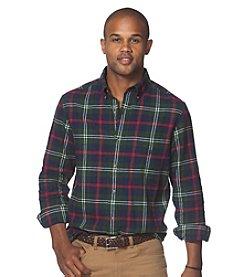 Chaps® Men's Long Sleeve Plaid Flannel Button Down
