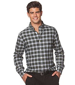 Chaps® Men's Long Sleeve Medium Plaid Button Down