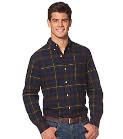 Chaps Men's Long Sleeve Large Plaid Button Down