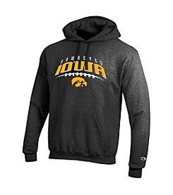 NCAA® - Iowa Name Over Football Hoodie