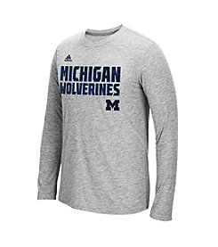 NCAA® Michigan Sideline Shock Long Sleeve Tee