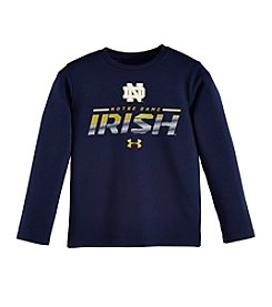 NCAA® Notre Dame Boys' 4-7 Long Sleeve Thermal Tee