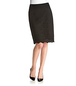 Calvin Klein Lace Pencil Skirt