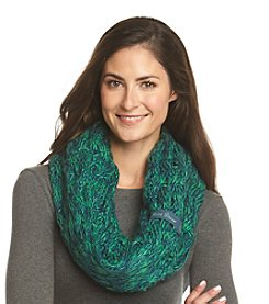 ZooZatZ™ NCAA® Notre Dame Fighting Iris Women's Marled Knit Infinity Scarf