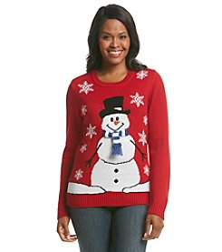 Studio Works® Snowman Holiday Sweater