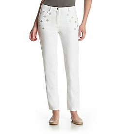 Ruby Rd.® Go Platinum Embellished Denim Pants