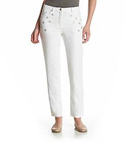 Ruby Rd.® Go Platinum Embellished Denim Pants