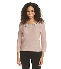 Ruby Rd.® Sweater Weather Embellished Sweater