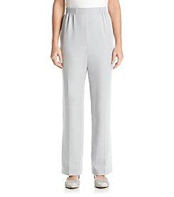 Alfred Dunner® Crystal Springs Solid Regular Pants