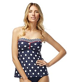 Beach House® Dots A-Line Bandini Top