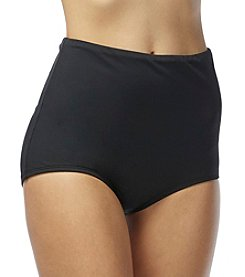 Beach House® Solid High Waist Bottom