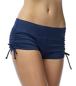 Beach House® Solid Adjustable Swim Shorts