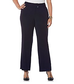 Rafaella®  Plus Size Curvy Fit Pant
